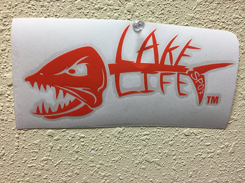 Personalized Lake Life Decals