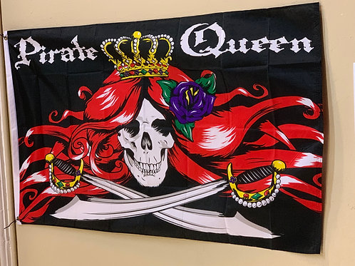 Pirate Queen Flag