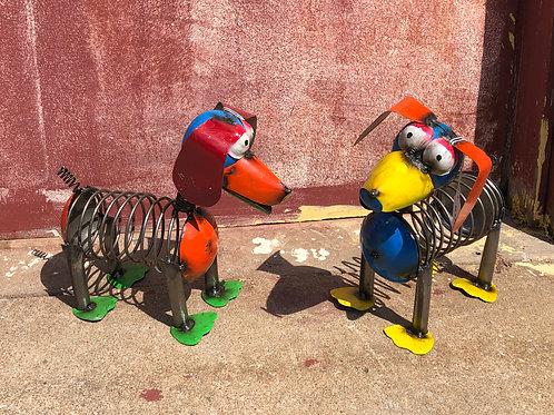 Metal Slinky Dog