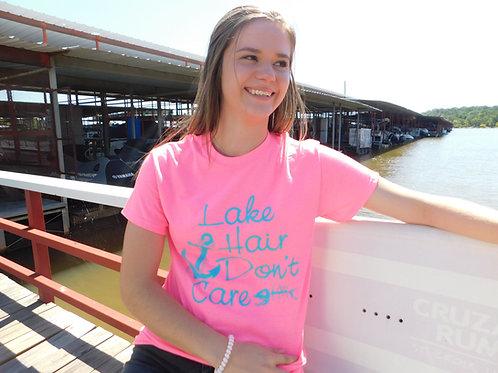 Lake Hair Don't Care T-Shirt