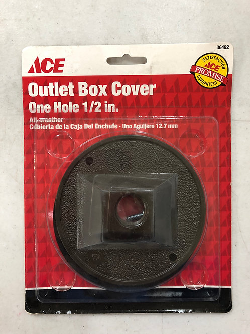 ACE All Weather Round Outlet Box Cover 36492