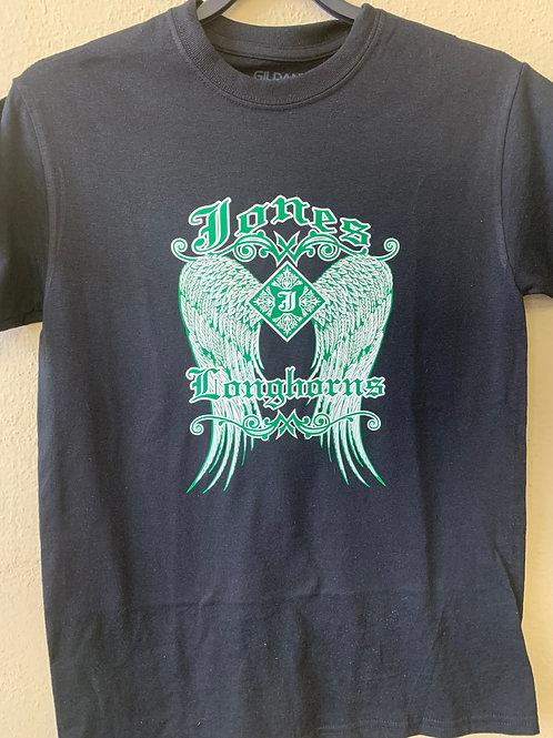 Jones Longhorns wings design