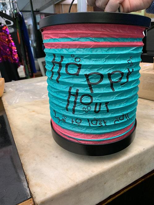 Happy Hour Tealight Lantern