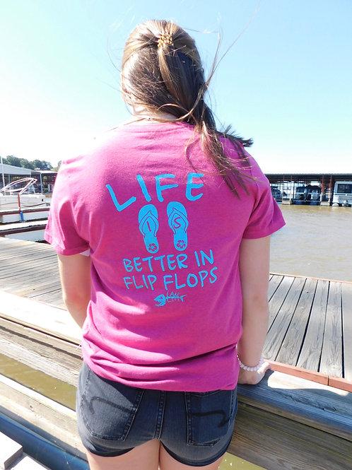 Better In Flip Flops Grand Lake T-Shirt