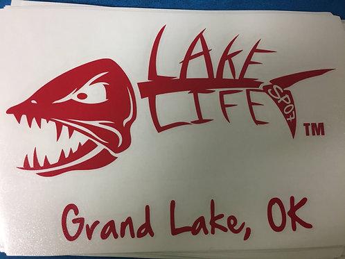 Grand Lake Lake Life Decals