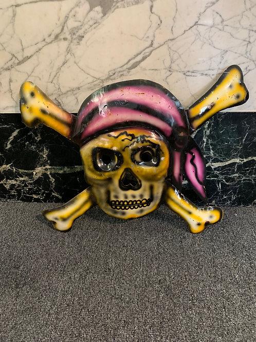 Metal Pirate Skull