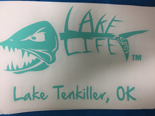 Lake Tenkiller Lake Life Decals