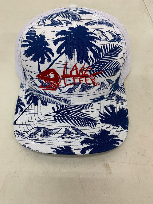Richardson Embroidered Patterned Snapback Trucker Hat 112P