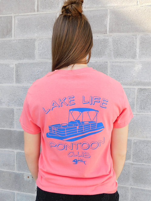 Pontoon Club Lake Life T-Shirt
