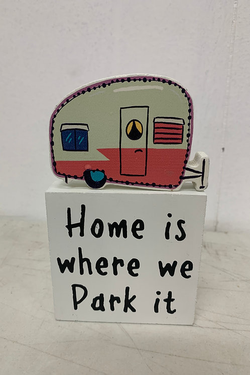 Camper Decor Sign