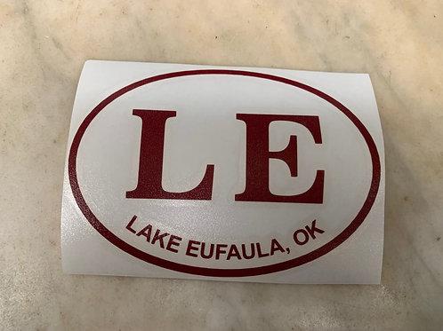 Lake Eufaula Open Decal