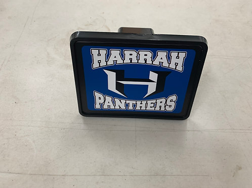 Harrah Panthers Hitch Cover