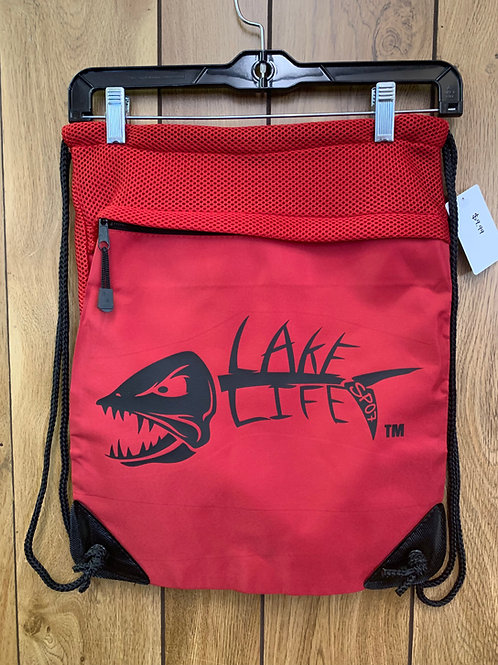 Lake Life Cinch Pack with Mesh Trim BG810
