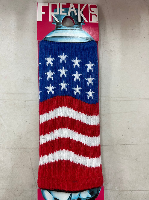 American Flag Freaker Koozie