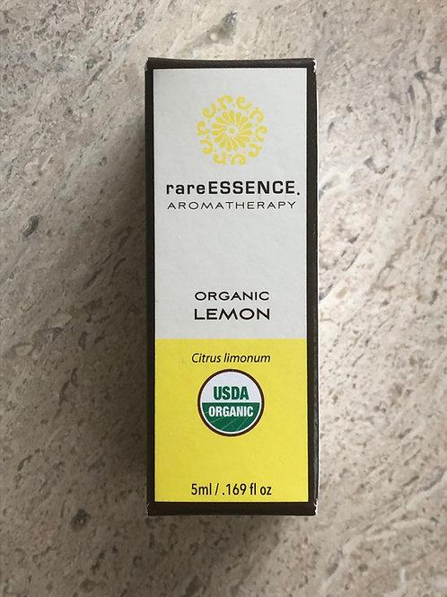 rareESSENCE Organic Lemon Essential Oils