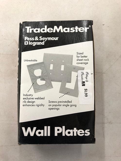 TradeMaster Wall Plate 1 Gang 1 Toggle Captive Screws