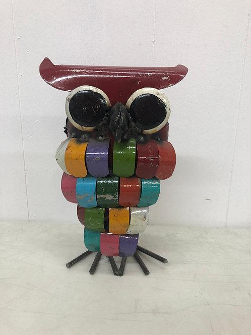 Metal Colorful Owl