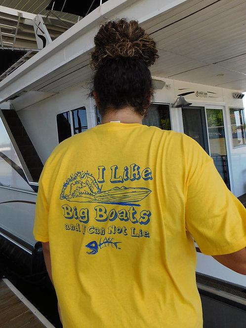 I Like Big Boats Lake Life T-Shirt