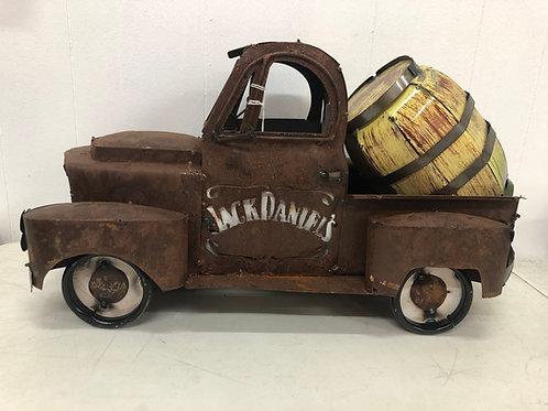 Metal Jack Daniels Truck