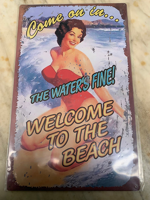 The Water's Fine Sign