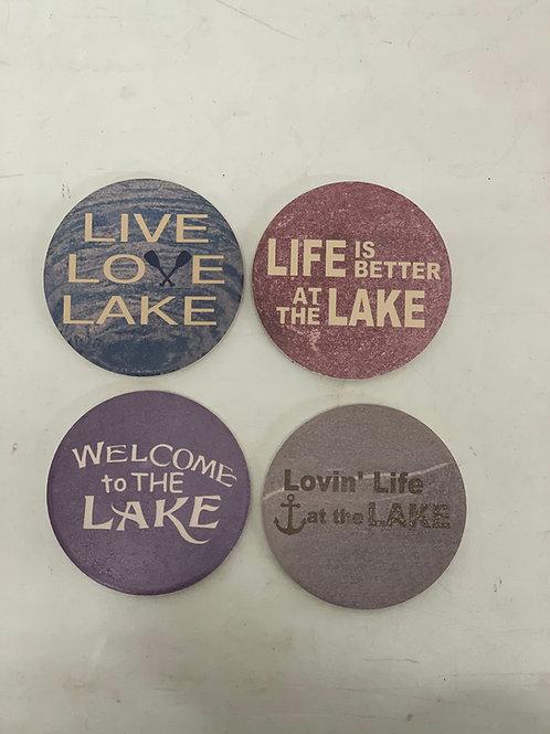 Lake Life Coasters