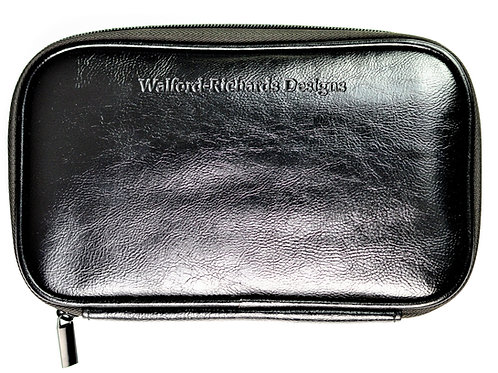 Faux Leather Brush Case