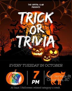 Halloween Trivia Poster