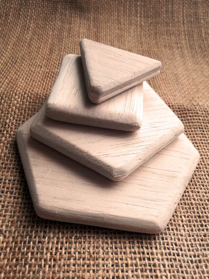 Magnetic Wooden pieces