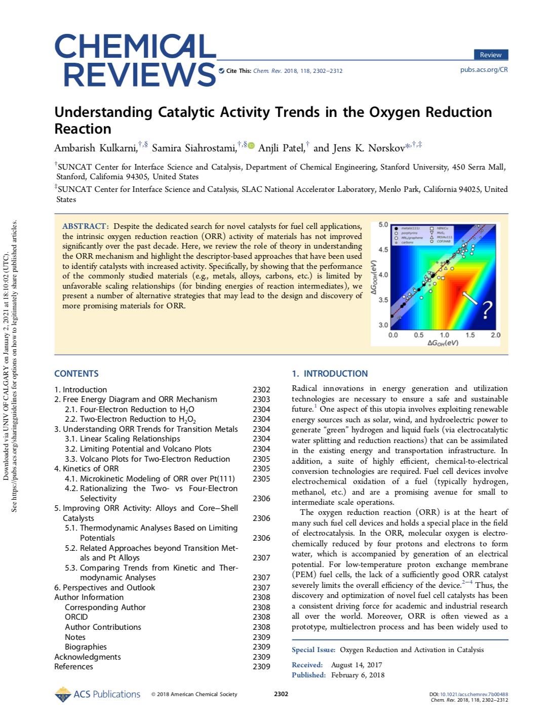 Understanding Catalytic Activity Trends in the Oxygen Reduction Reaction