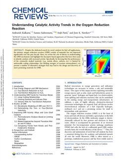 Understanding Catalytic Activity Trends in the Oxygen Reduction Reaction