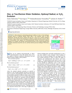 One- or Two-Electron Water Oxidation, Hydroxyl Radical, or H2O2 Evolution