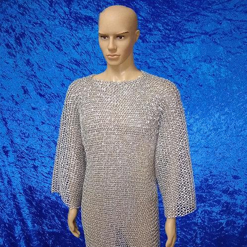 Riveted Aluminum Chainmail Shirt