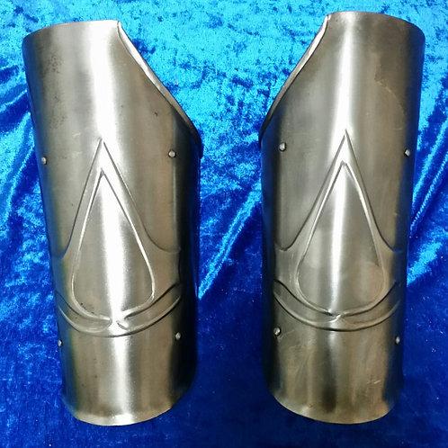 Steel Assassin's Creed Bracers