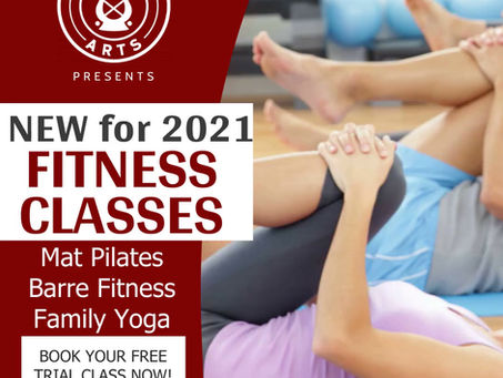 New Fitness Classes for 2021