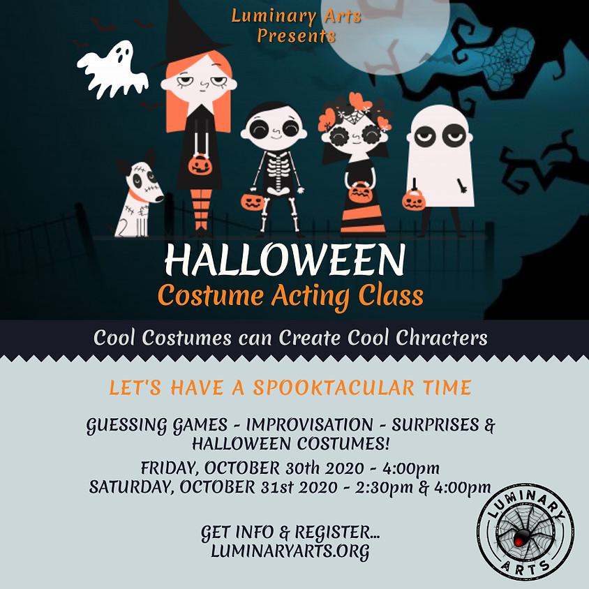 Online Halloween Costume Acting Class