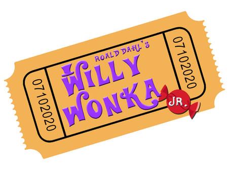 Roald Dahl's Willy Wonka Jr. Online Summer Camp!