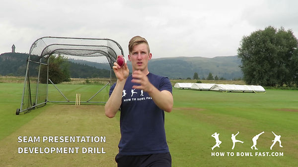 Cricket Fast Bowling Swing Bowling Grip Drill