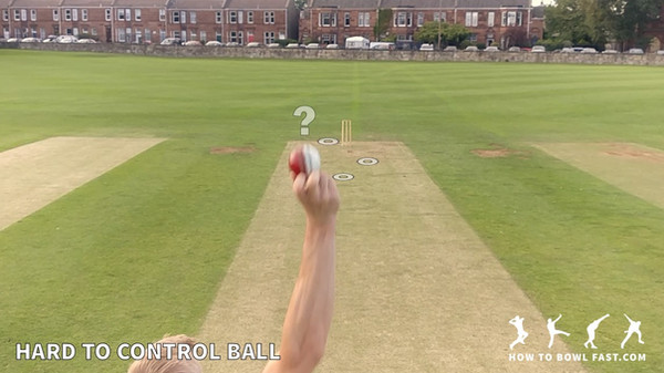 Cricket fast bowler slower ball and good cricket fast bowling technique