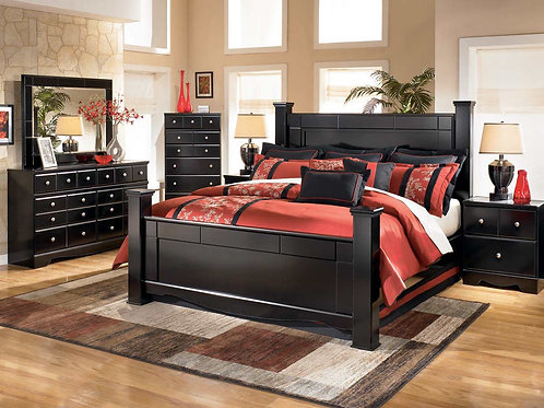 Shay Queen 6 Piece Bedroom Set