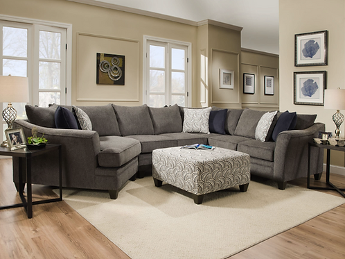 Simmons Albany Sectional