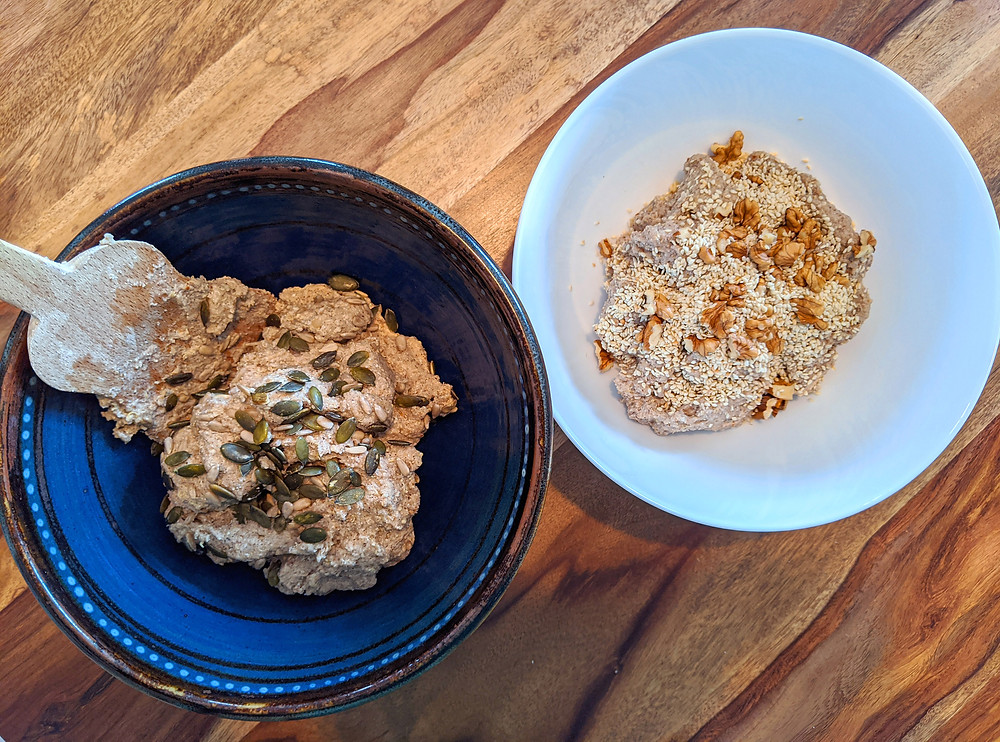 préparation de pain low fodmap sans gluten au levain