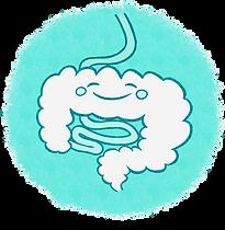 logo le sourire de l'intestin sans fond