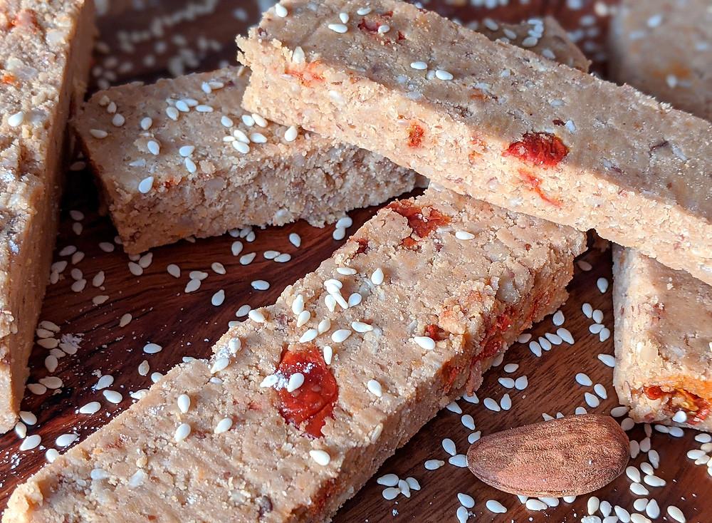 barres protéinés vegan sans sucres