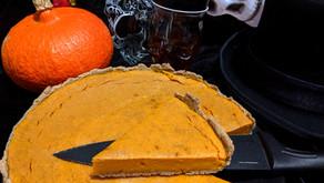 Tarte au potiron d'Halloween (sans produits laitiers)
