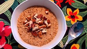 Riz au lait végétal coco vanille