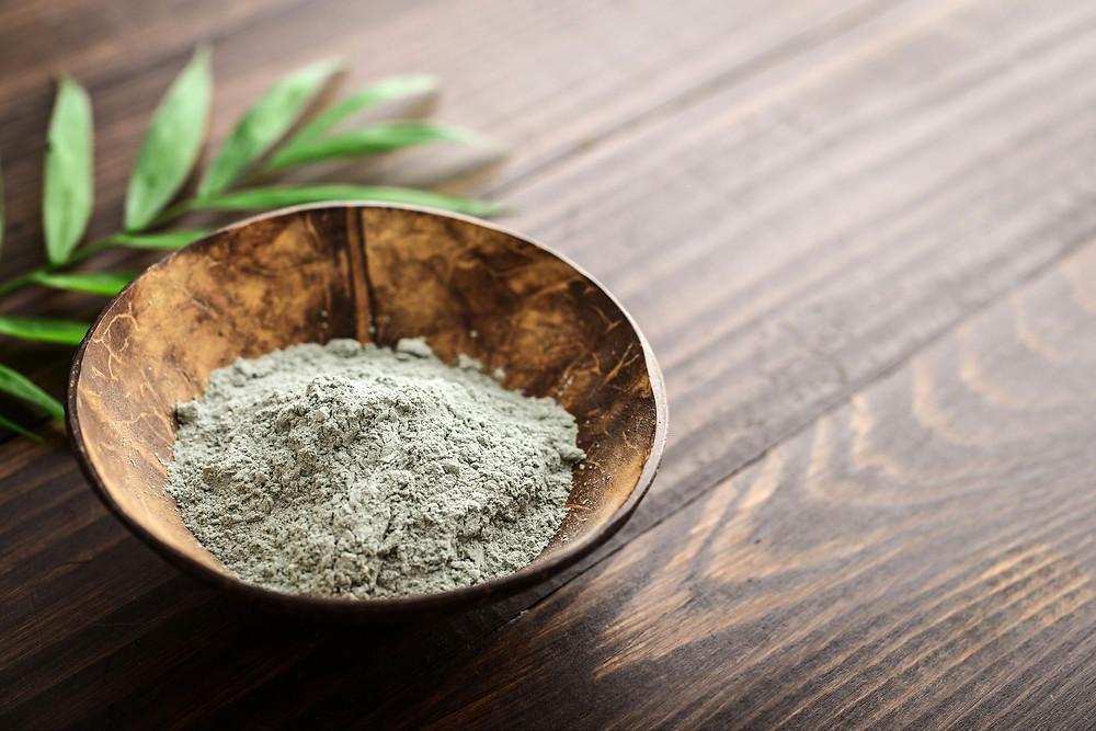argile verte contre le reflux