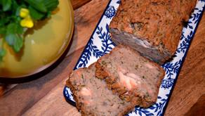 Cake saumon frais et courgette