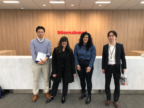 Meeting with Marubeni during our visit to Japan on April 2019
