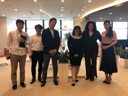 Meeting during our visit to Japan on August 2019