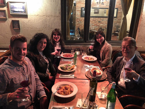 Italian Dinner with our partners from Rohto!